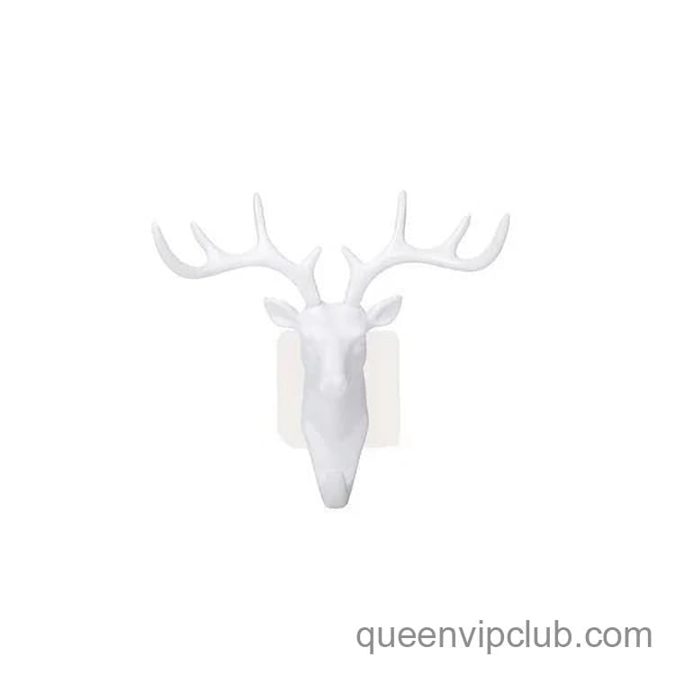 Deer Head Decoration Strong Adhesive Wall Hook