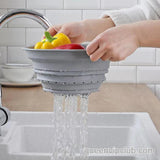 Chopping Board——cut vegetables, drain storage basket, storage basket 3-in-1