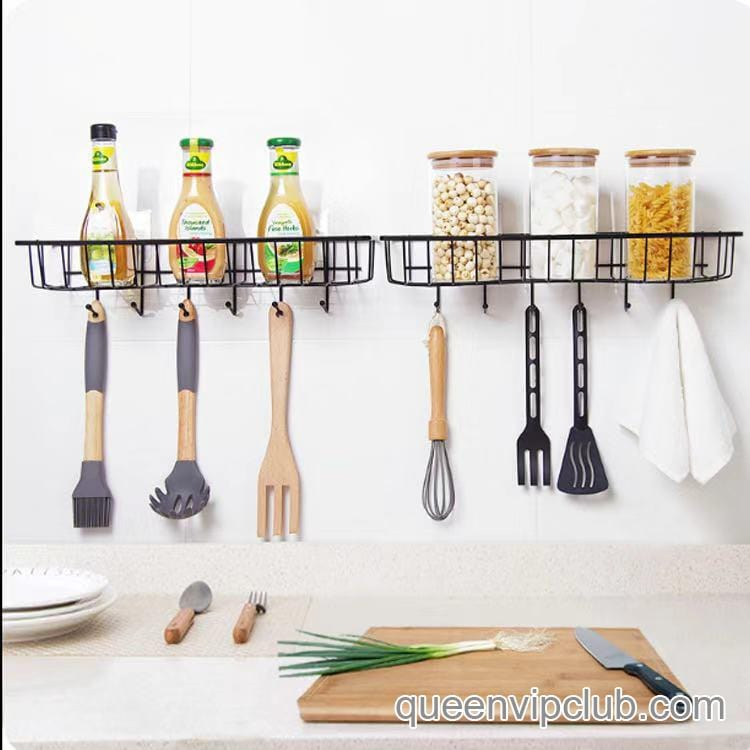 Kitchen Tools Strong Adhesive Storage Rack