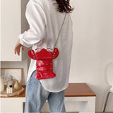 Lobster shape design mini bag