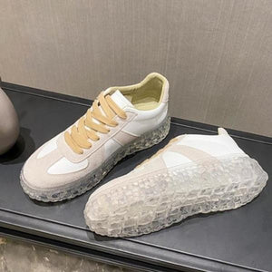Casual Lace Up Round Toe Shoes【size 5-9】