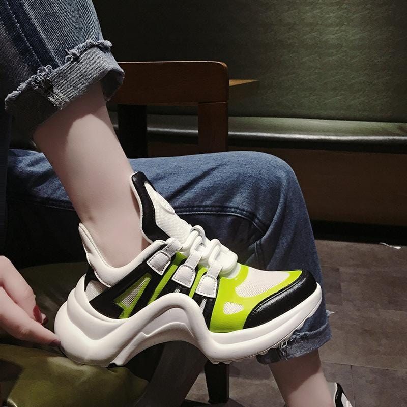 Stylish Luminous Net Shoes【size 5-9】