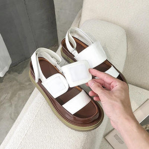 Velcro Roman Style Casual Sandals