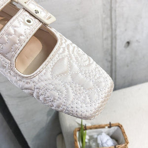 Fairy Square Toe Flat Shoes