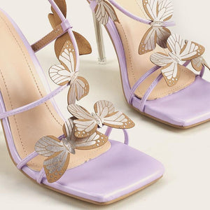Fairy Butterfly High-heel 6cm Sandals