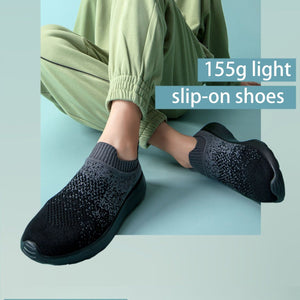 Knit Light Slip-on Shoes【size 5-14】