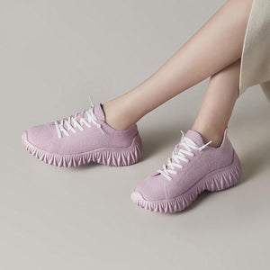 Casual Lace-up Shoes【size 5-9】