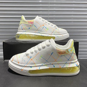 Graffiti Luminous Casual Sneakers