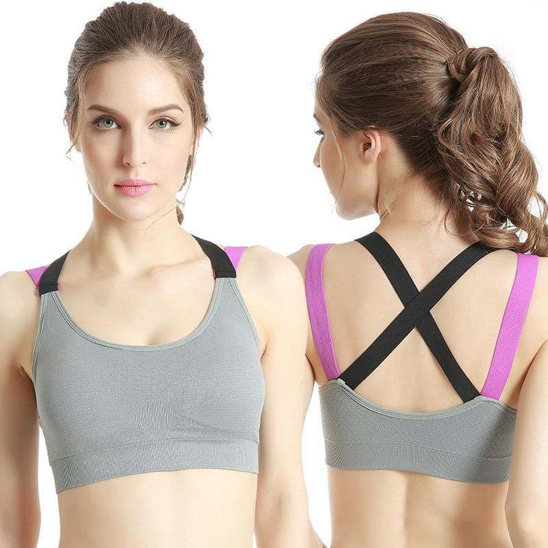 Stretchy Shockproof Breathable Sports Bra