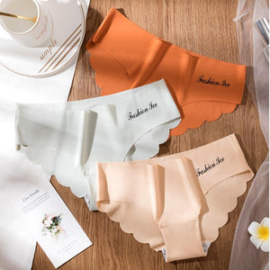 3PCS Seamless Breathable Invisible Underwear