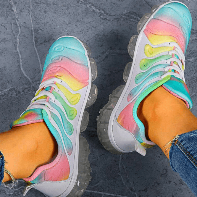 Rainbow Light Sneakers