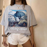 Print Casual Loose T-shirt