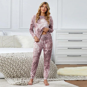 Tie Dyed Print Comfy Home Sets
