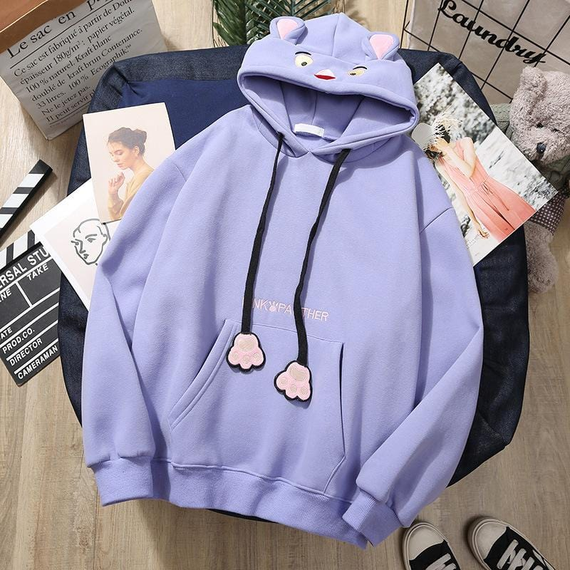 Cartoon Cute Loose Hoodies