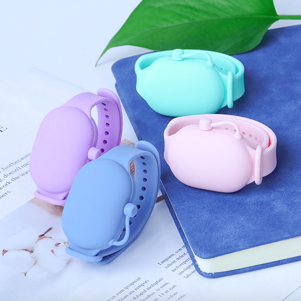 3PCS Silicone Wristband Hand Dispenser