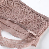 3pcs Sexy Lace Hollow Out Underpants