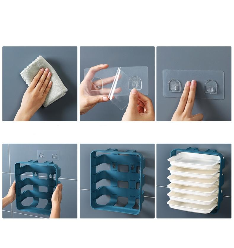 Side Dish Portable Wall-mounted Tray