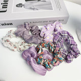 4PCS Sweet Ponytail-holder Hair Accessories