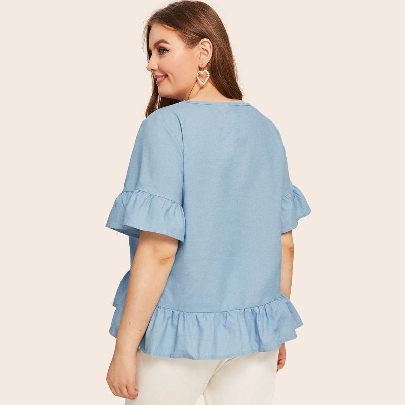 Cute Ruffles Shirt