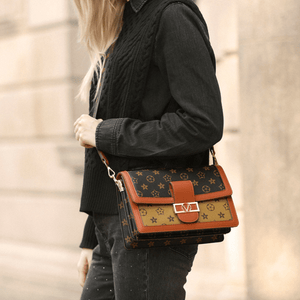 Trendy Printed Casual Square Messenger Bag Crossbody Bag