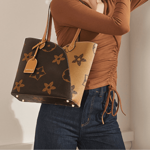 Trendy Printed Tote Bag