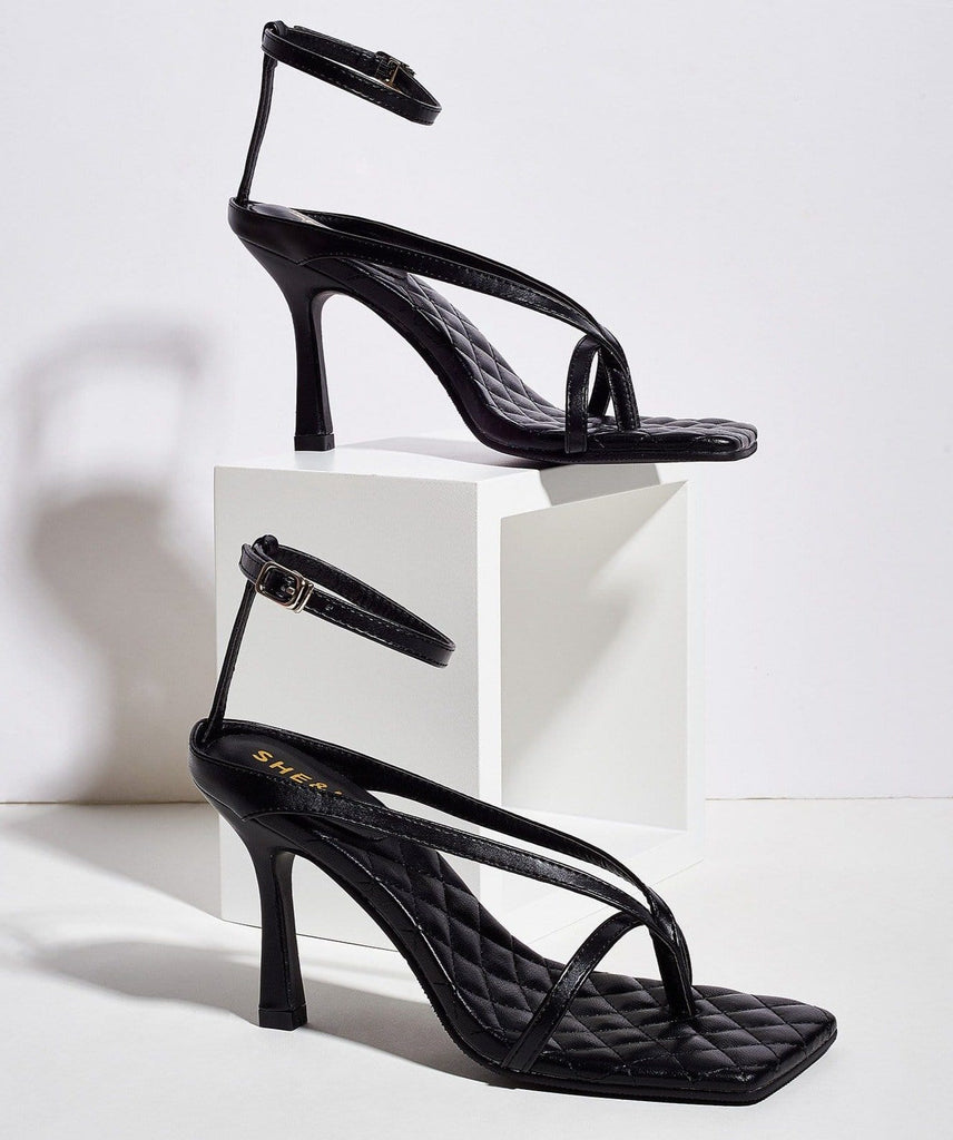 Sexy 9cm Open-toe Buckle High Heels Sandals