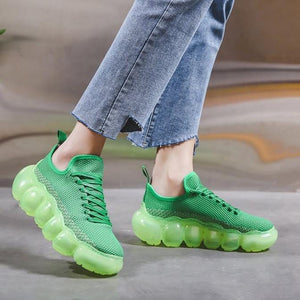 Cute Fashion Knit Jelly Shoes【size 6-12】