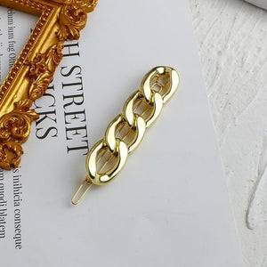 New Fashion Minimalist Metal Chain Hair Pins