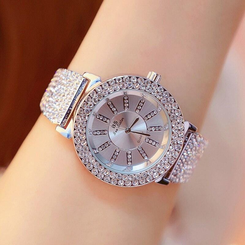 Women's Gold Diamond Watches Ladies Luxury Diamond Watches