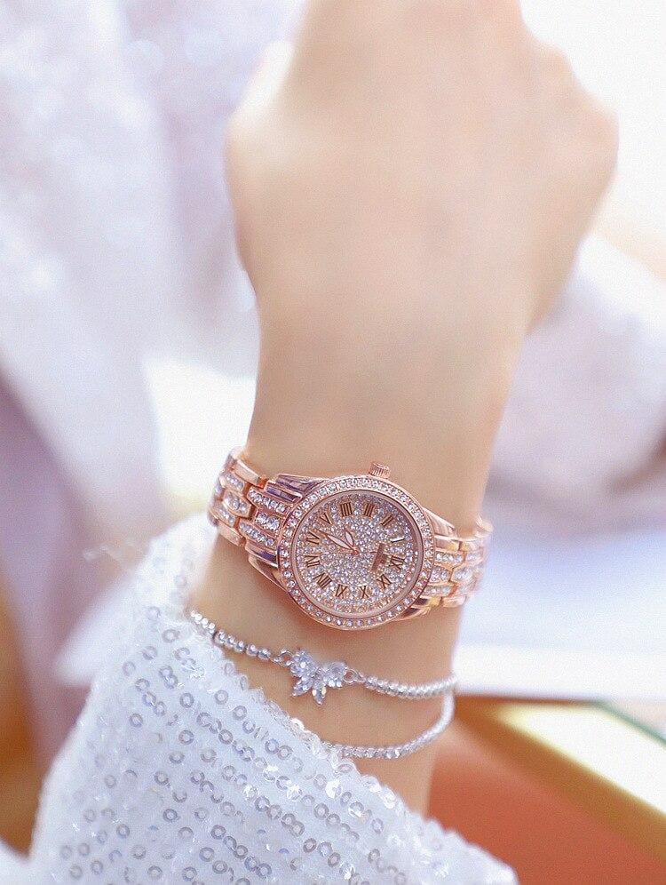 Luxury fashion ladies watch