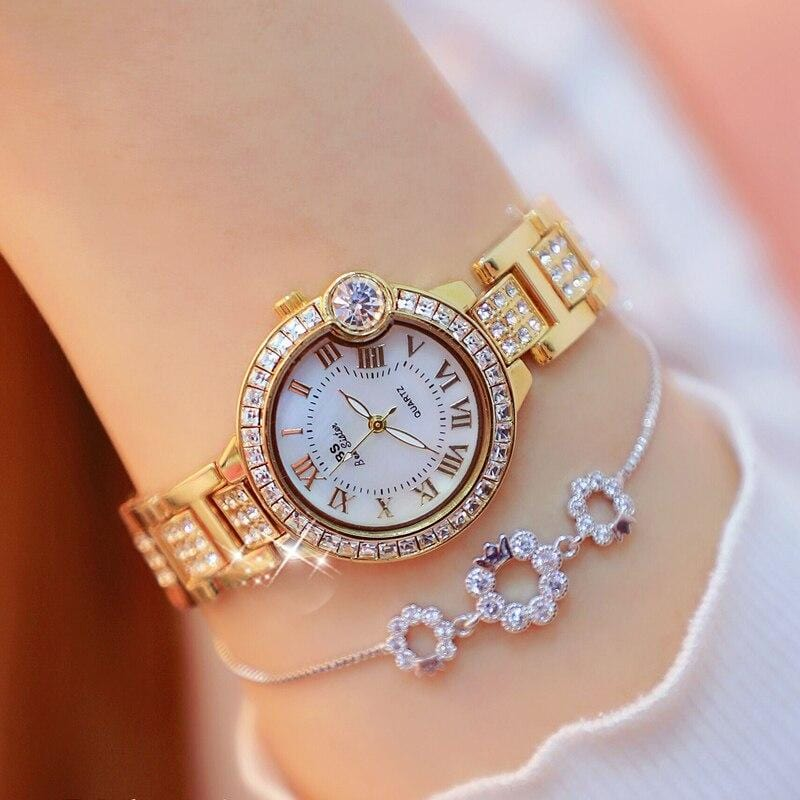 Luxury Fashion Square Women Watch Diamond lady wrist watch
