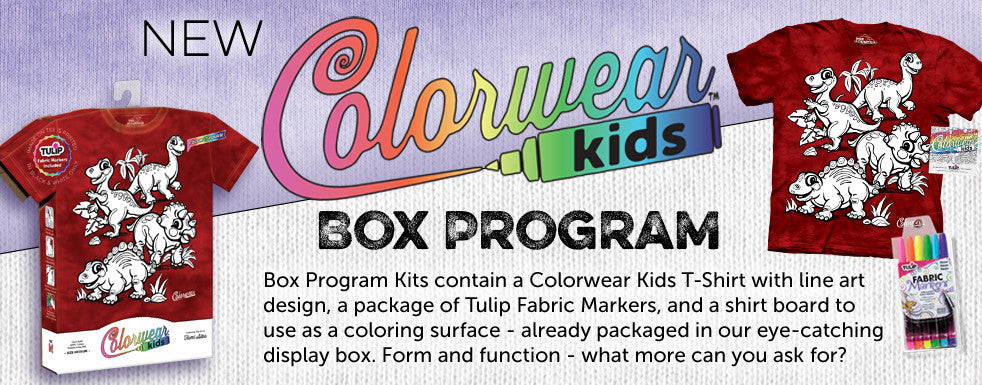 Colorwear Kids Box Program