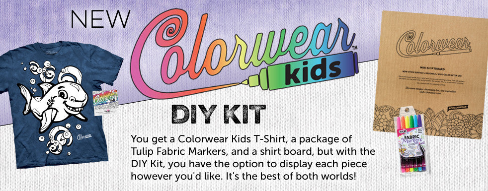 Colorwear Kids DIY Kit