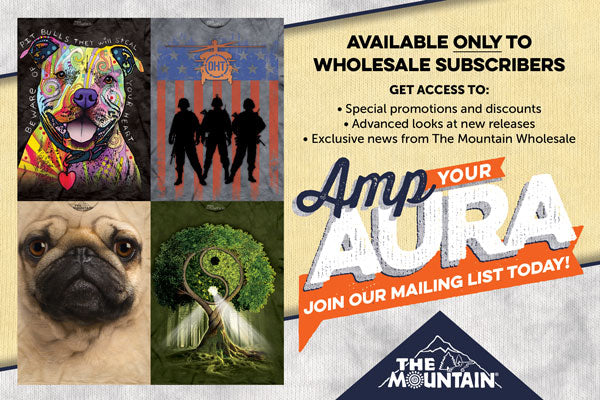The Mountain Wholesale Mailing list sign up