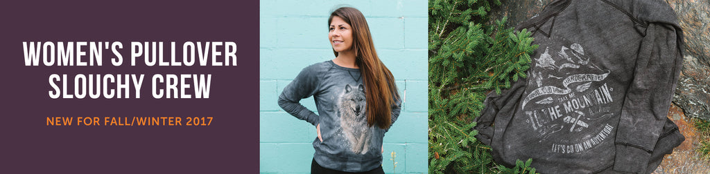 Women's Pullover Slouchy Crew