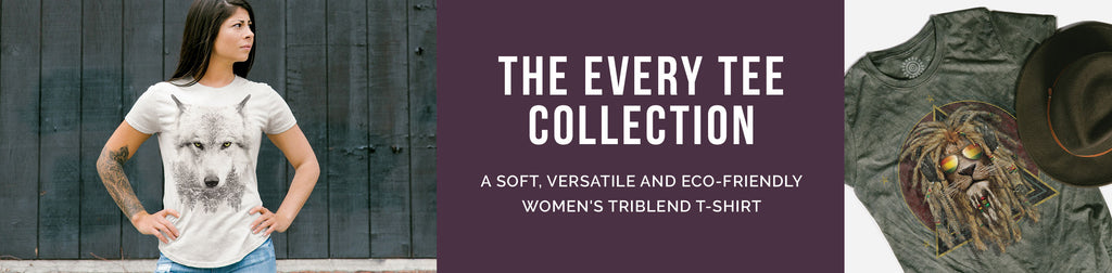 The Every Tee Collection: Women's Triblend T-Shirts