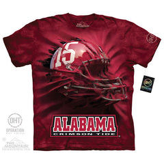 UA 5066 Alabama Breakthru Helmet 15