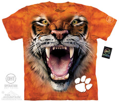 CUT 5200 Big Face Clemson Tiger