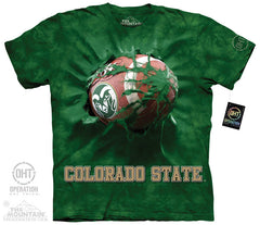 CSU 5426 Colorado State Football Breakthru
