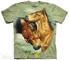 4074 Meadow Horses Youth T-Shirt