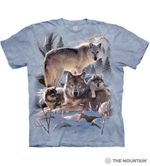 6283 Wolf Family Mountain T-Shirt