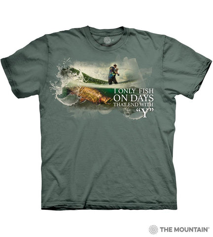6312 Fish Every Day T-Shirt