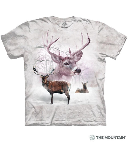 6392 Wintertime Deer T-Shirt