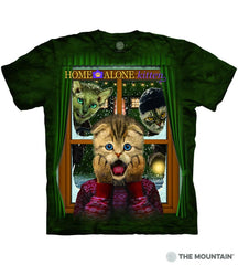 6396 Home Alone Kitten T-Shirt