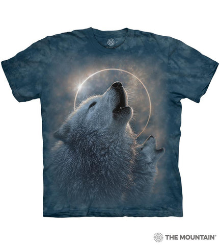 6419 Wolf Eclipse T-Shirt