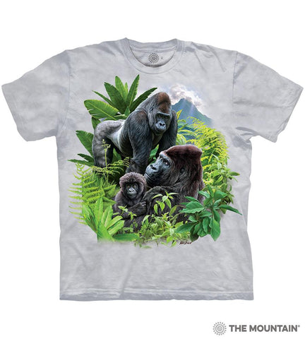 6447 Gorilla Family T-Shirt