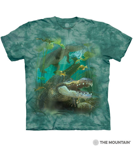 6456 Alligator Swim T-Shirt