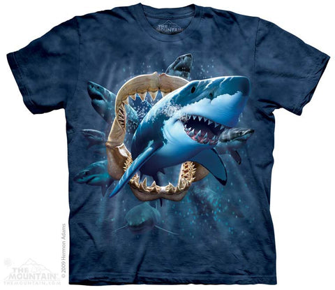 2287 Shark Attack - Youth T-Shirt