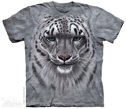 153181 Snow Leopard Portrait Youth T-Shirt