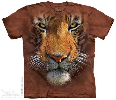 153251 Tiger Face Youth T-Shirt
